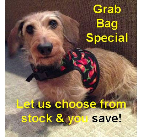 "Hug-A-Dog Harness® in Fabric (size 20""-24"") Grab Bag"