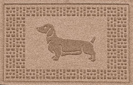 Aqua Shield Dachshund Doormat 2'x3'