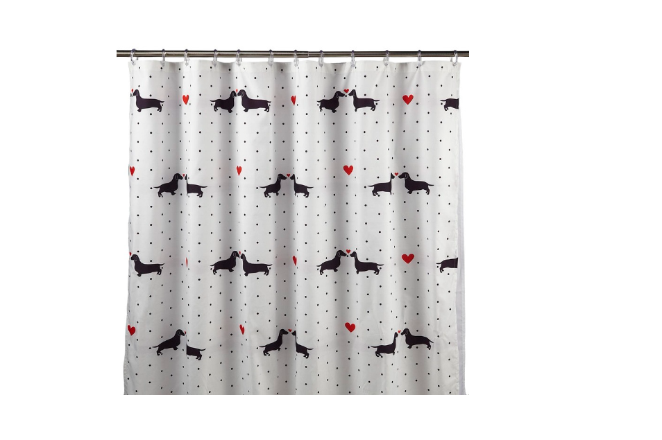 Add To My Lists Doxie Love Shower Curtain