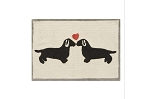 Doxie Love Bath Rug