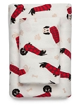 Dachshund Print Flannel Sheet Sets