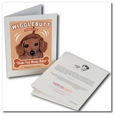Wigglebutt Greeting Card