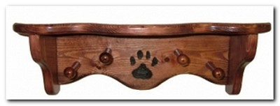 Paw Shelf & Leash Holder
